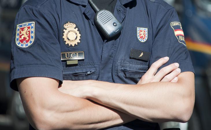 el agente de Policía recriminó a Casanovas su