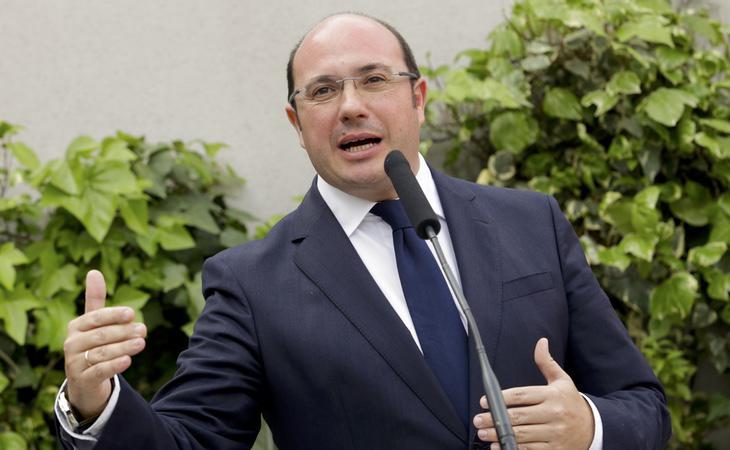 El actual presidente murciano, Pedro Antonio Sánchez, está siendo investigado por corrupción