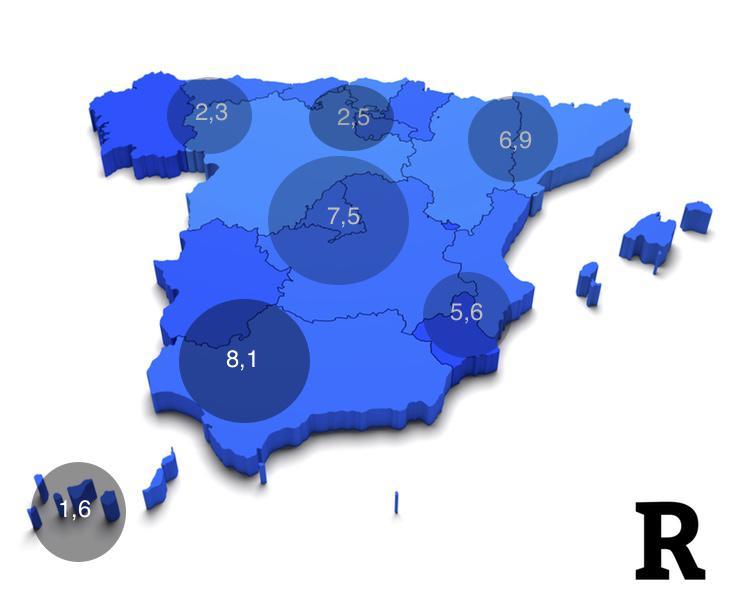 El sur de Extremadura y Andalucía son los territorios más cerveceros