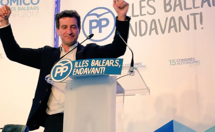 Gabriel Company ha sido elegido líder del PP balear con el 72% de los votos