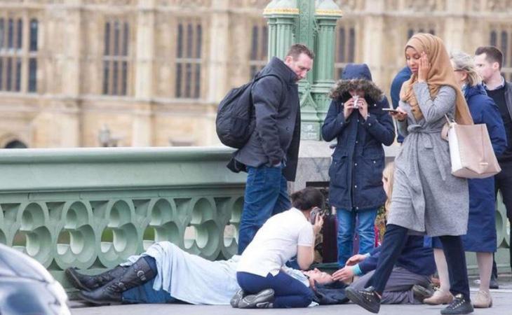 Durante los atentados de Londres se tergiversó una fotografía para atacar a la comunidad musulmana