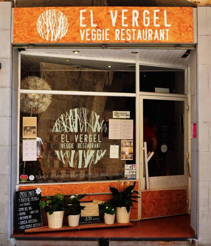 Entrada al restaurante El Vergel de Tarragona