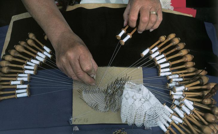 Será mejor que esas agujas no entren en la Feria de Artesanía Creativa de Valencia