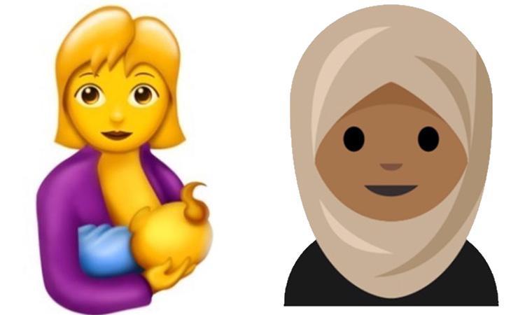 Los dibujos de una madre lactante y una mujer con hiyab podrían aparecer entre los nuevos emoticonos de Whatsapp