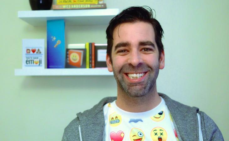 El fundador de la Emojipedia, Jeremy Burge