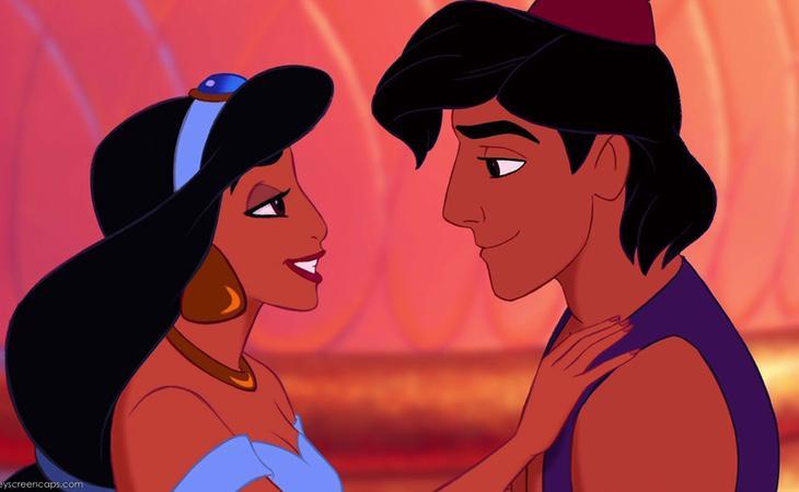 El Genio habría usado a Jasmine para que Aladdín se coronara como príncipe