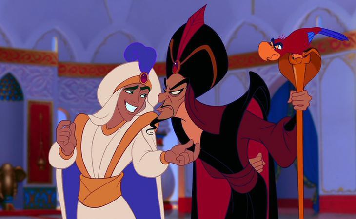 Jafar habría sido usado por el Genio para cumplir el deseo de Aladdín y coronarse como príncipe