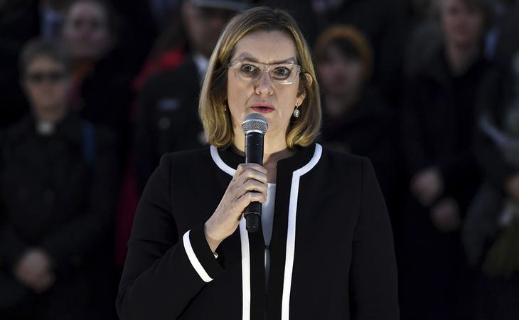 La ministra del Interior británica, Amber Rudd, ha impulsado la medida