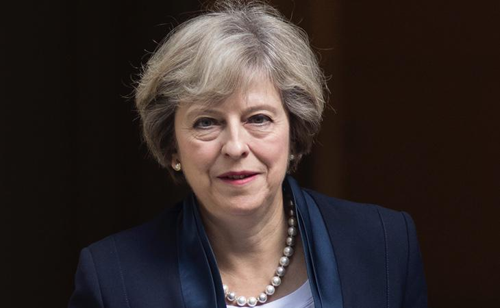 Theresa May ha descartado completamente la vía militar