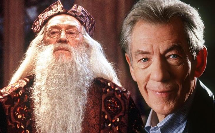Ian McKellen podría haber interpretado a Dumbledore en 'Harry Potter'