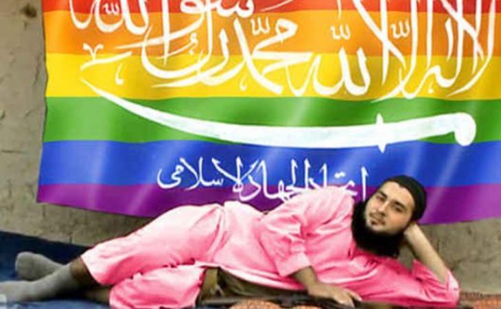 A Silvana de Mari le dedicamos este troleo que realizaron varios activistas contra el Estado Islámico