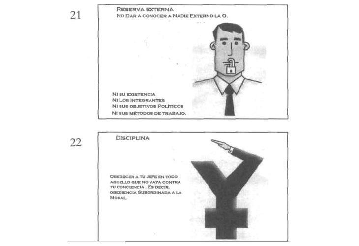 Supuestos documentos internos del Yunque