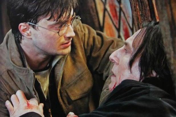 Escena de la supuesta muerte de Snape
