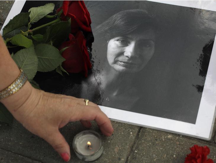 La activista Natalia Esterimova fue asesinada en 2009 por denunciar públicamente la represión deKadýrov