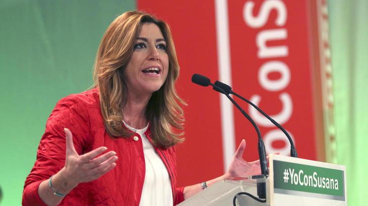 Susana Díaz, liderazgo y fuerza en los pueblos