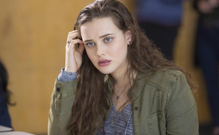 Katherine Langford interpreta a Hannah Baker