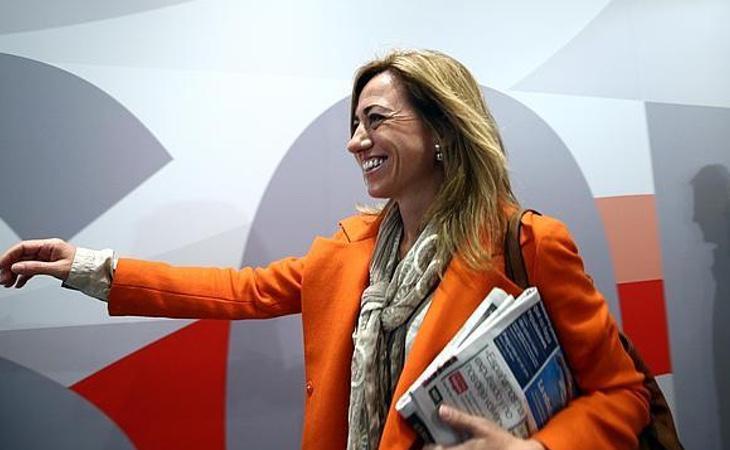 Carme Chacón comenzó desde las bases del PSOE