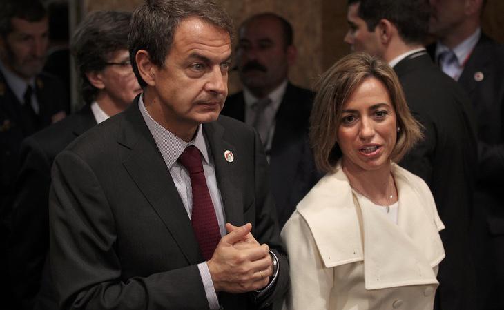 Carme Chacón intentó relevar a Zapatero al frente del PSOE
