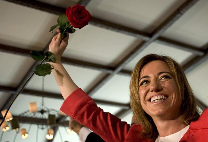 Personalidades de todos los partidos políticos han lamentado la muerte de Carme Chacón