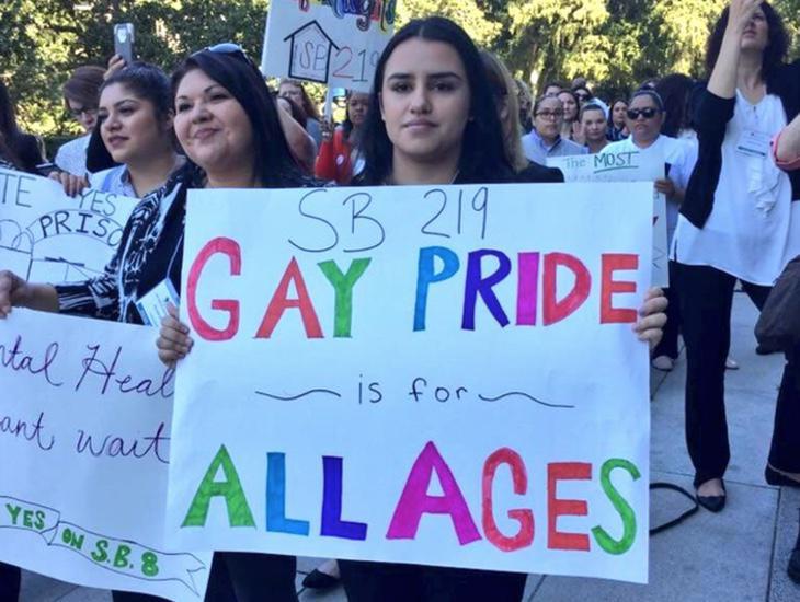 El Orgullo Gay es para todas las edades