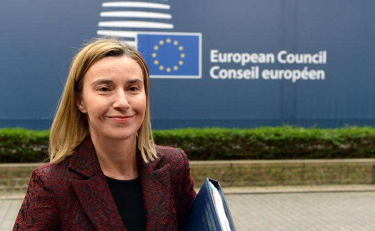 La responsable de Exteriores de la UE, Federica Mogherini
