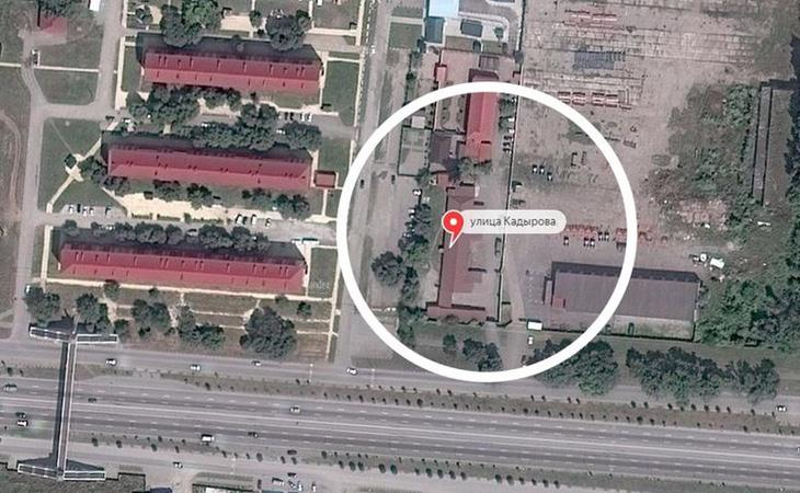 Imagen del campo de concentración de Argún