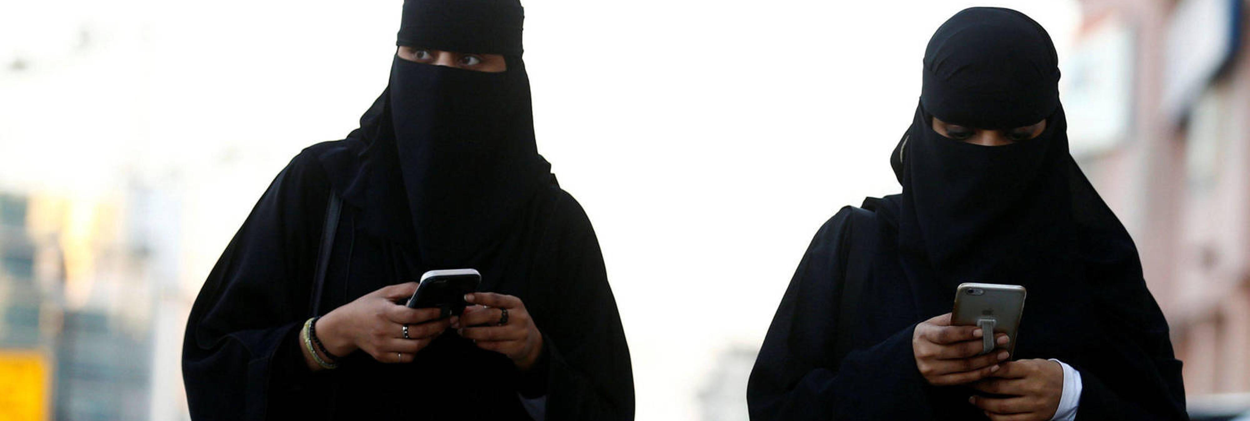 Así es la vida de una mujer en Arabia Saudí