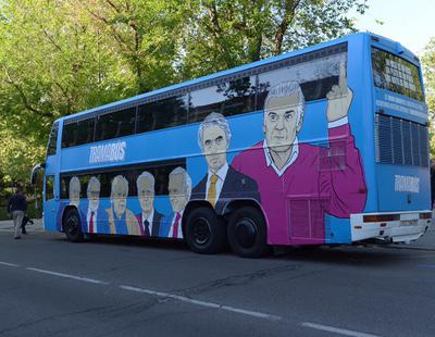 Podemos recorrerá España con su 'Tramabús' para denunciar la corrupción del PP