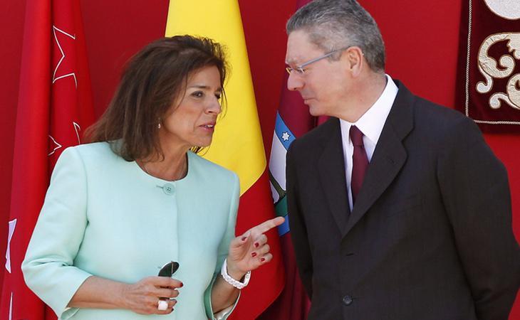Los exalcaldes de Madrid, Ana Botella y Alberto Ruiz Gallardón