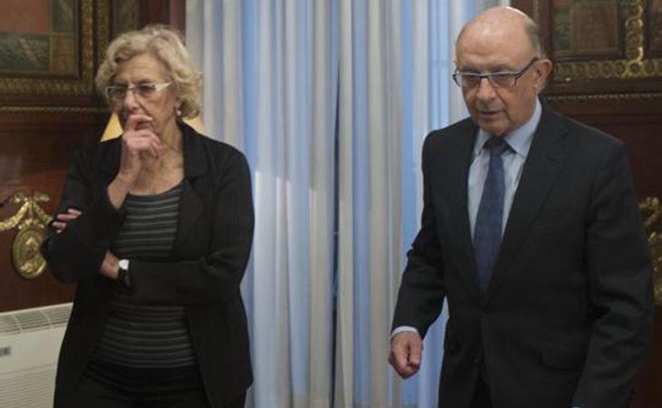 El ministro de Hacienda y Función Pública, Cristóbal Montoro, ha mantenido varios desencuentros con el Ayuntamiento de Madrid