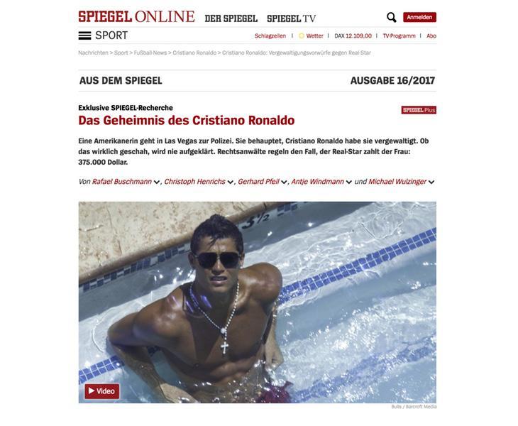 El semanario alemán Der Spiegel ha destapado el escándalo