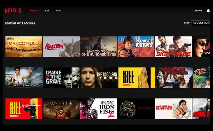 Una de las categorías ocultas de Netflix