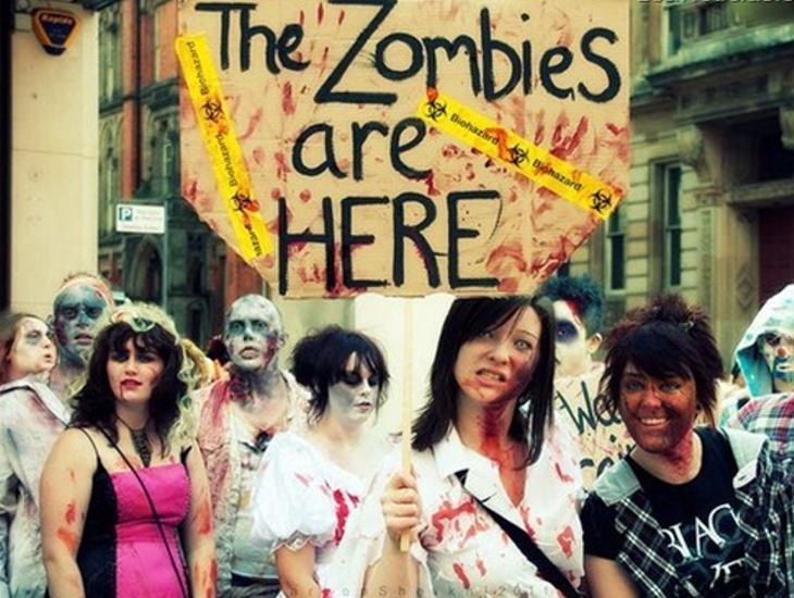El Gobierno no tiene planes para un apocalipsis zombie
