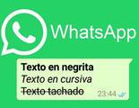 Poner negritas y cursivas en WhatsApp será ahora aún más fácil