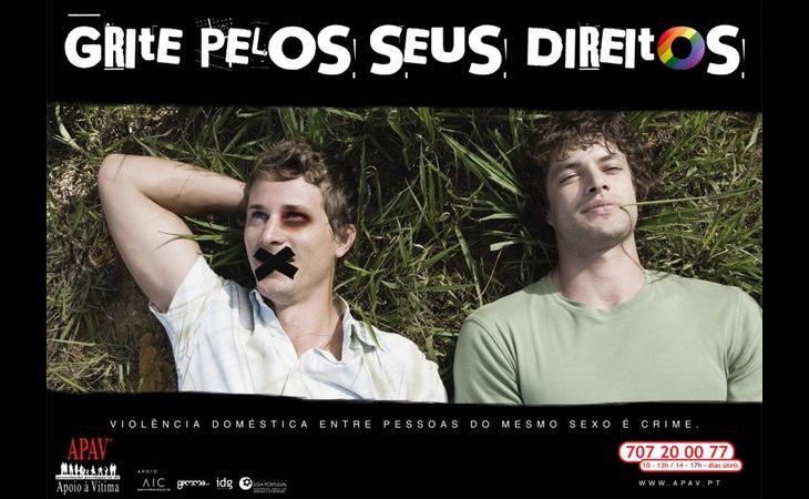 Campaña portuguesa en contra de la violencia intragénero