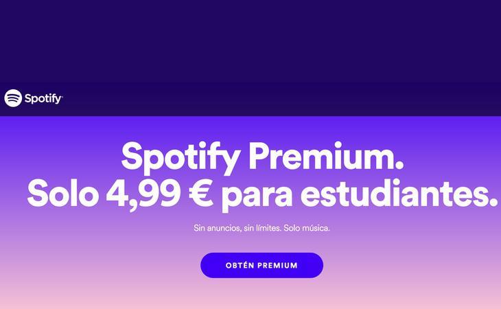 Spotify reduce a la mitad el coste de suscripción premium