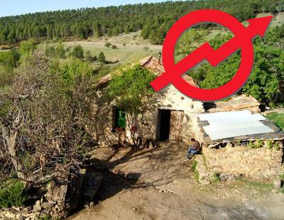 Piden cárcel para un grupo de okupas que reconstruyó un pueblo abandonado en Castilla-La Mancha