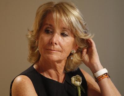 Esperanza Aguirre se plantea dimitir tras la detención de Ignacio González