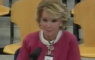 Esperanza Aguirre declara ante el juez por el caso Gürtel