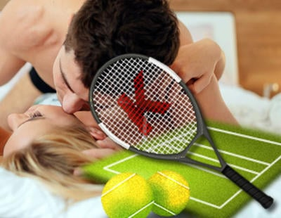 Los gemidos de una pareja mientras practica sexo obligan a parar un partido de tenis