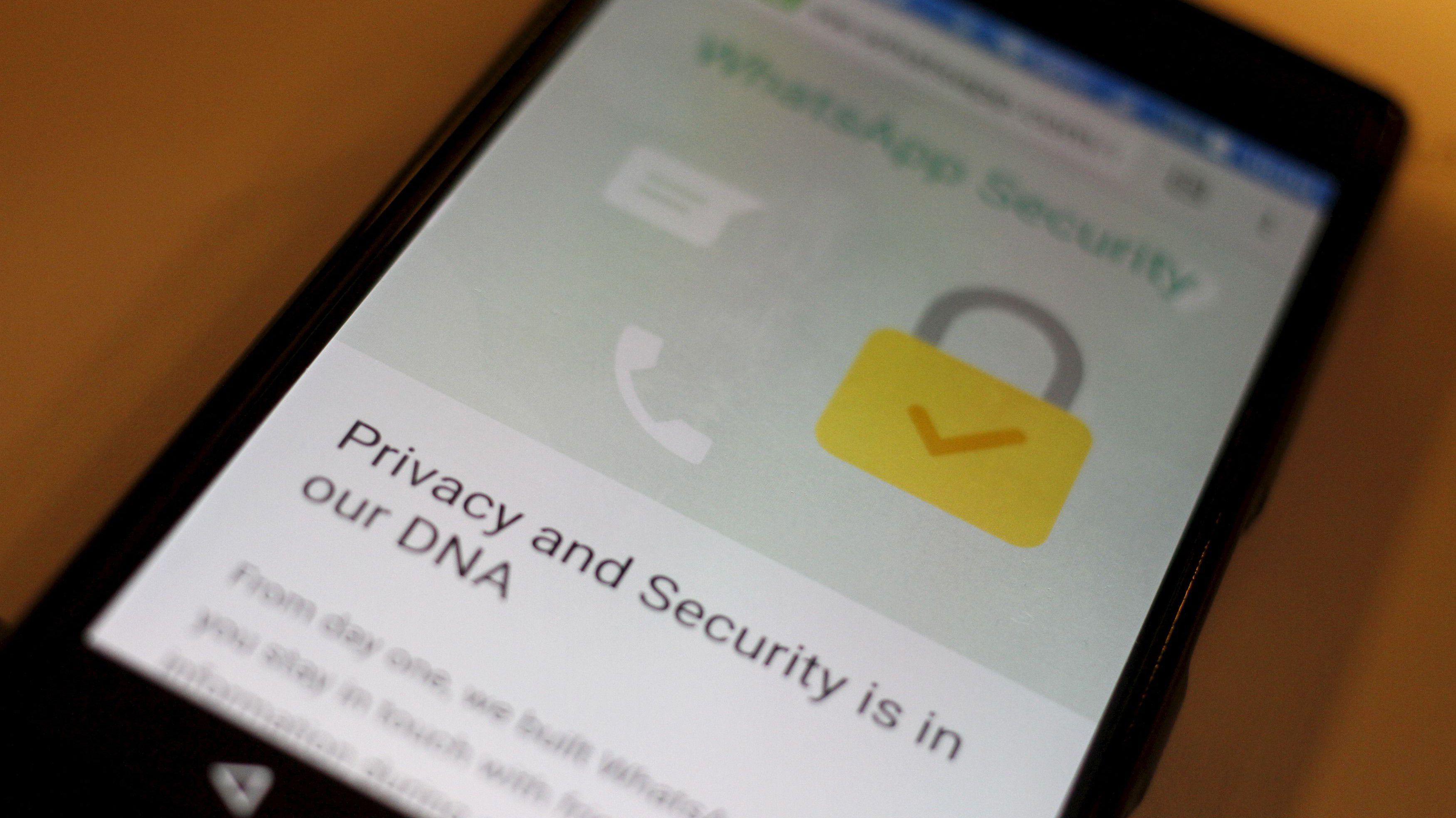 WhatsApp y la seguridad en el ADN