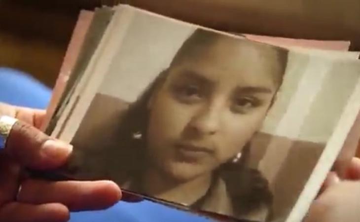 Fotografía de Karla en su juventud
