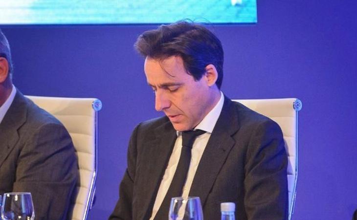 Javier López Madrid durante un acto oficial
