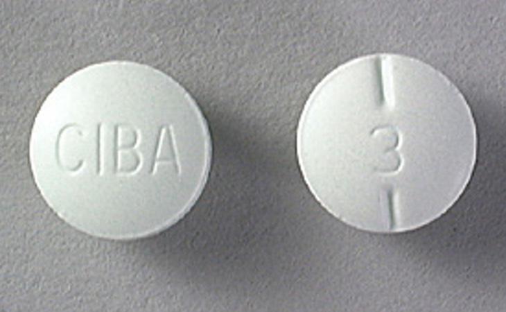 Dos comprimidos de Ritalín