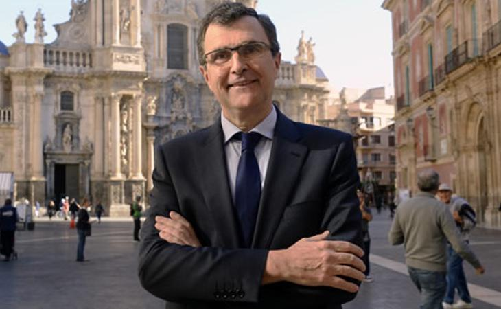 El alcalde de Murcia, José Francisco Ballesta