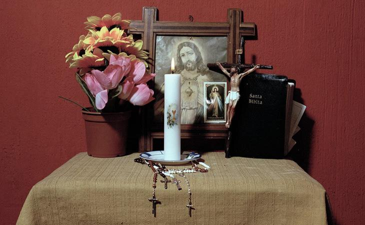 La presencia de la religión es constante