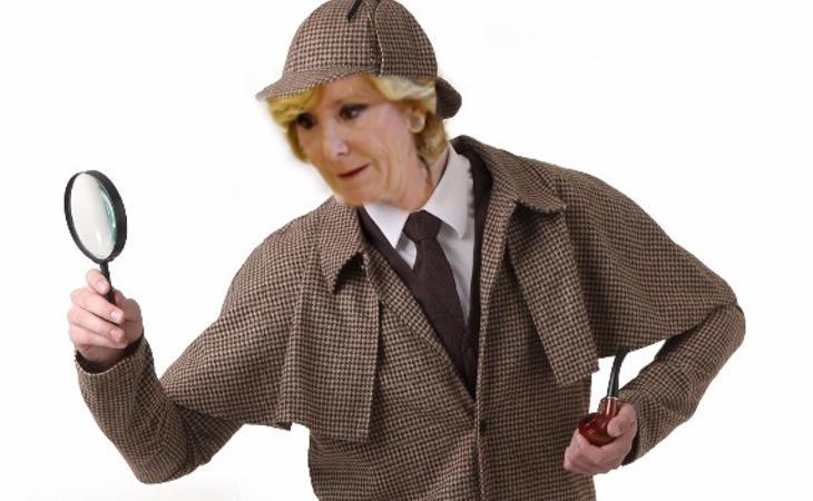 Espe Holmes destapando la corrupción del PP
