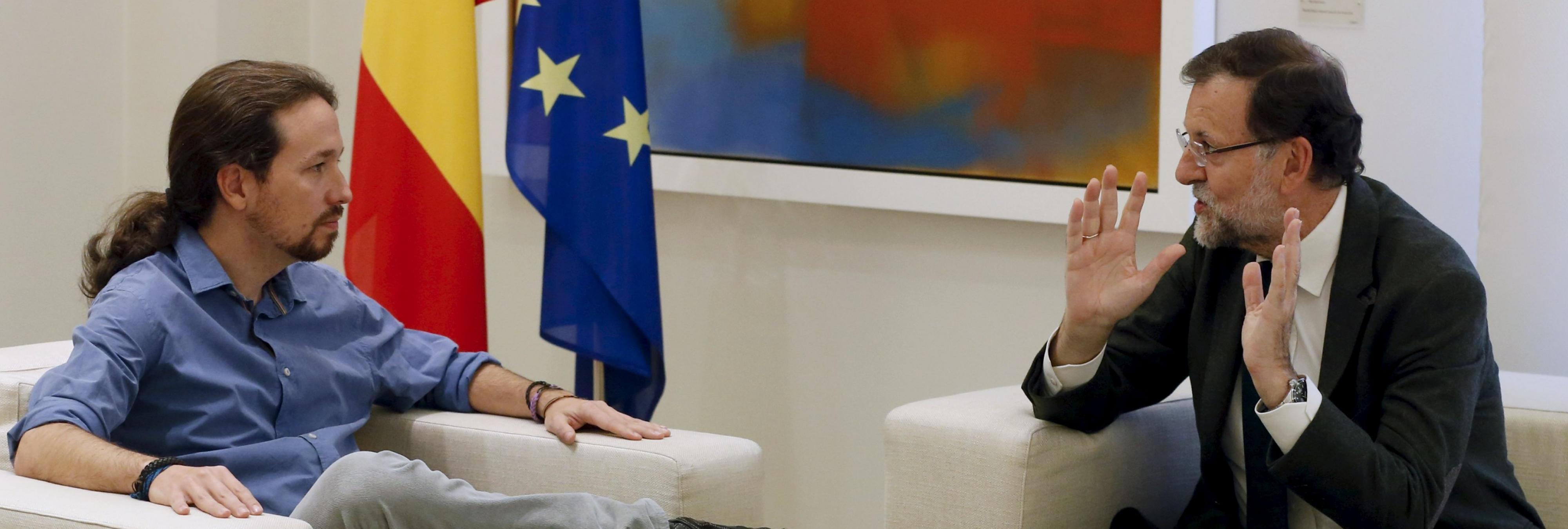 Unidos Podemos anuncia una moción de censura contra Rajoy