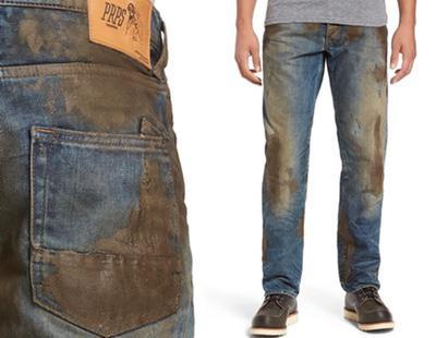 Pantalones manchados de barro a 425 euros: la última moda que está causando furor