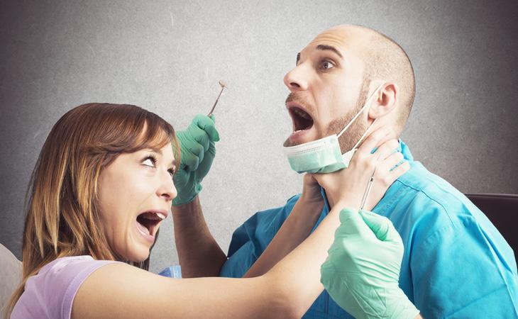 Médico y paciente no hicieron buenas migas durante la consulta